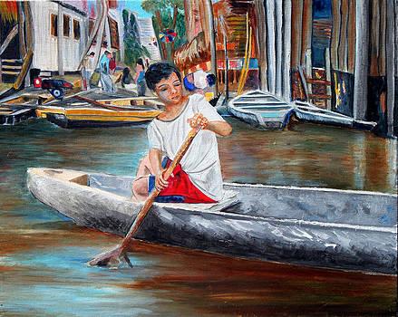 Floating City of Belen by Pilar  Martinez-Byrne