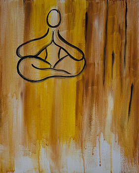 Floating in Meditation by Megan Sax