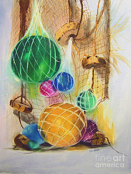 Floats And Nets by Sharon Burger