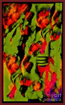 John Malone - Floral Arrrangement Abstract