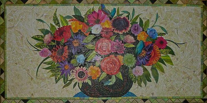 FloraL Bouquet Still LiFe by Teresa Grace Mock