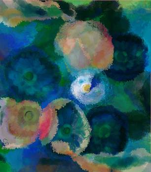 Floral Commotion  by Christine Fournier