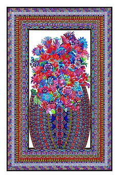 Floral Embroidery by Lawrence Chvotzkin