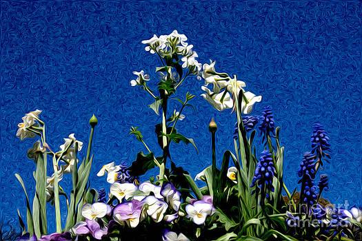 Floral Fantasy by Karen Lee Ensley