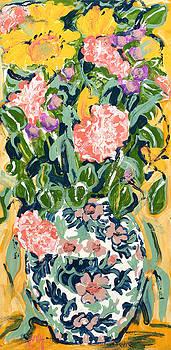 Floral Garden by Carole Goldman