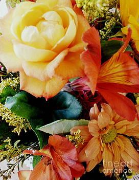 Floral Harmony by Avis  Noelle