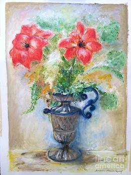 Floral in Urn by Barbara Anna Knauf