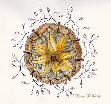 Floral Pod by Nancy TeWinkel Lauren