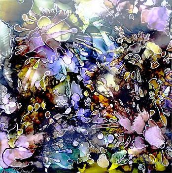 Floral Summer Celebration Alcohol Inks by Danielle  Parent