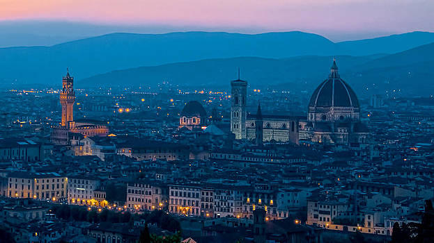 Florence at Dusk by Daniel Sands