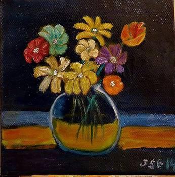 Flores de Papel by Juan Sandin