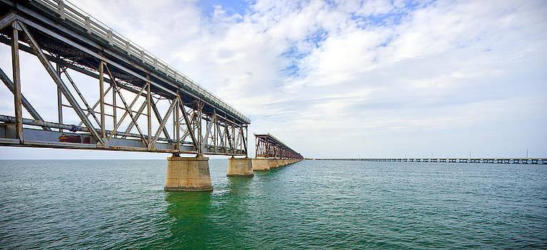 Adam Romanowicz - Florida Overseas Railway bridge near Bahia Honda State Park