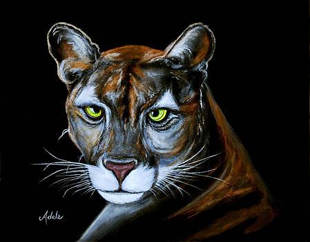 Florida Panther Jeremiah by Adele Moscaritolo