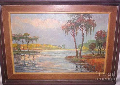 Florida Swamp Scene by Robert Moeller