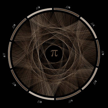 Flow of life flow of pi #2 by Cristian Vasile