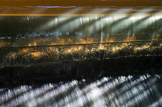 Flow over the Weir by Pete Hemington