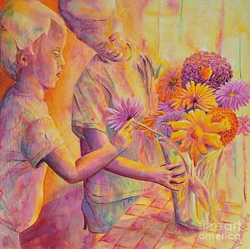 Flower Arranging by Jaswant Khalsa