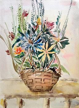 Flower Basket by Hashim Khan