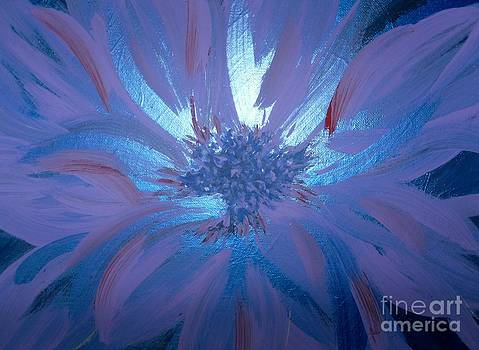 Flower Blue by LCS Art