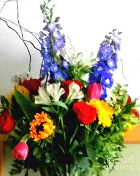 Flower Bouquet by Rose Wang
