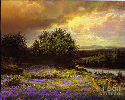 Flower Dell by Robert Foster