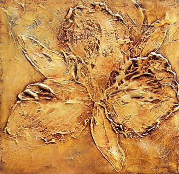 Flower Fossil by Kristine Mueller Griffith