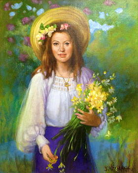 Flower Girl by Janet McGrath