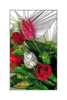 Flower Lines by Ck Gandhi