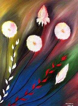 Flower Of Dreams by A Zhoniu Pfozhe