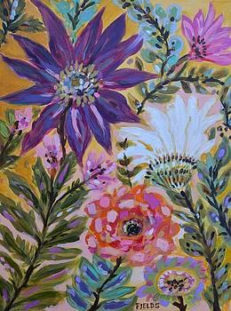 Flower Patch Garden by Karen Fields