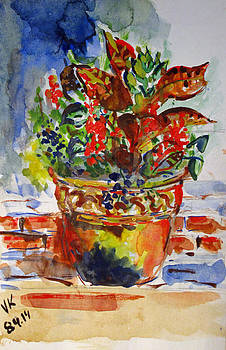 Flower pot by Vladimir Kezerashvili
