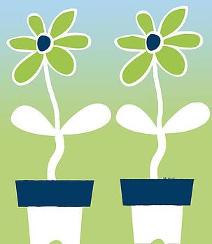 Kate Farrant - Flower Pots