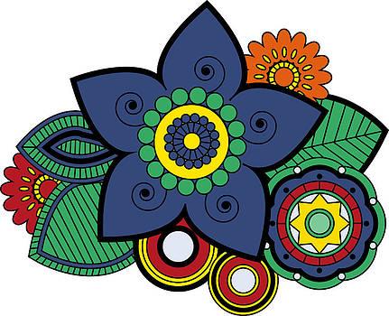 Flower retro by Mariana Vianna