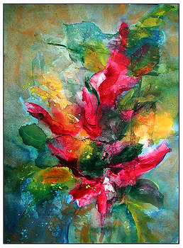 Flower Spray by Donna Randall