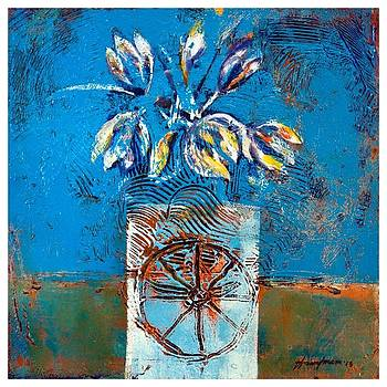 Flower Vase 1 by Hasan Imam