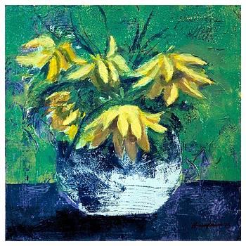 Flower Vase 2 by Hasan Imam