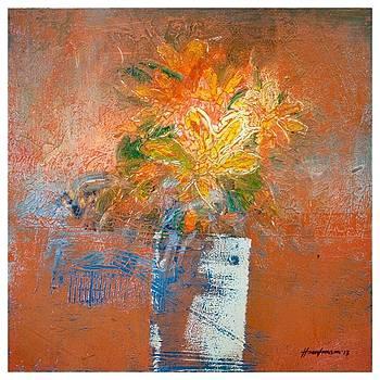 Flower Vase 3 by Hasan Imam