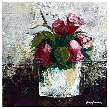 Flower Vase 4 by Hasan Imam