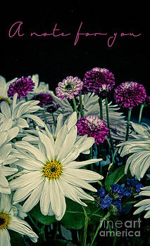 A Note for You-Flowers by Lori Frostad