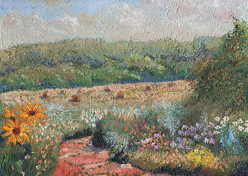 Flowers and Hay by William Killen