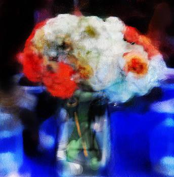 Flowers Blue by Kiki Williams