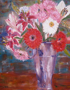 Flowers for me by Kathy Stiber