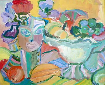 Flowers in Her Hat by Brenda Ruark