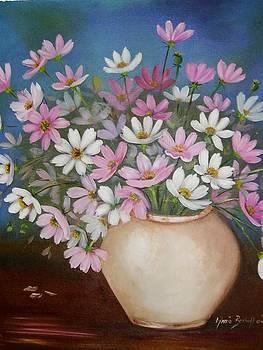 Flowers In Pink by Ansie Boshoff