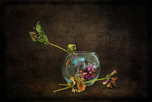 Flowers in the Studio by Jim Larimer