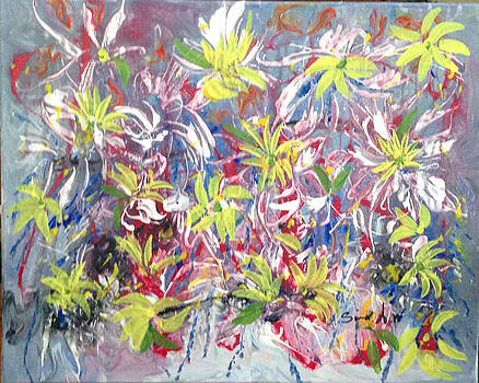 Flowers of the Heaven by Sima Amid Wewetzer