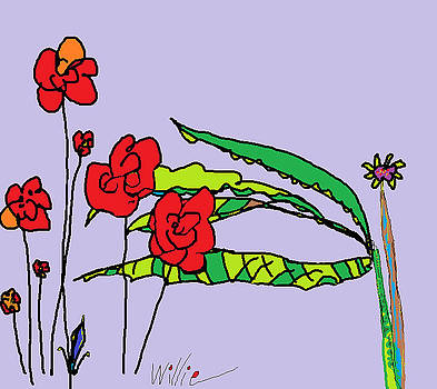 Flowers by Willie Anicic