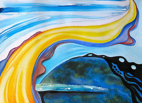 Flowing Abstract by Paul Schoenig
