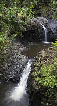 Flowing Falls by Brad Scott