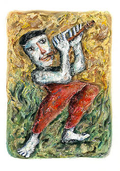 Flute Player by Nalidsa Sukprasert